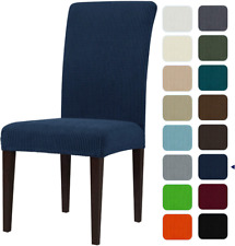 subrtex Dining Room Chair Slipcovers Sets Stretch Furniture Protector Covers for