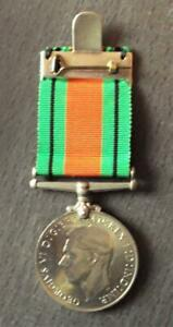 1939-1945 DEFENCE MEDAL, FULL SIZE, WORLD WAR 2 BRITISH MILITARY ARMY M22