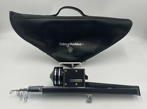 ST CROIX Fishing Machine Telescoping Fishing Rod w/ Leather Case - Collapsible