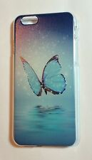 Unique Blue Butterfly Sea Water Sky Hard Back Case Cover for iPhone 6 6S 4.7''