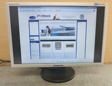 "Samsung SyncMaster 943NW LS19MYNKSB/EDC 19"" Silver LCD TFT Colour Monitor"