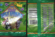 1996 Topps Baby Wild Animals Collectible WAX WRAPPER NonSport Conservation ASPCA