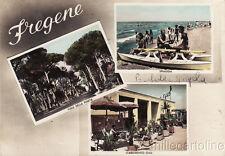 * FREGENE - Spiaggia, Viale e Stabilimento Oasi