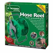 PORTABLE HOSE PIPE REEL HOLDER STAND FREE,GARDEN WATER WALL MOUNTED hold 40-60m