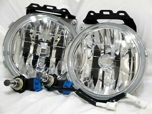 Glass Driving Fog Light Lamps One Pair For 2000-2004 Outback 2003-2006 Baja