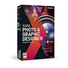 Magix Xara Photo & Graphic Designer with all Updates includes 600k stock images!