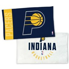 "INDIANA PACERS AUTHENTIC EDITION ON-COURT LOCKER ROOM TOWEL 22""X42"" NEW WINCRAFT"