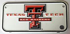 Texas Tech Red Raiders 3 x 6 Metal Bike Tag Bicycle License Plate - SALE