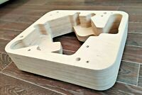 Thorens TD 124 plinth from Baltic birch plywood without finish