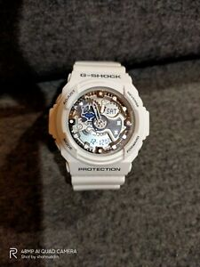 casio g-shock GA 300 7AJF white