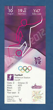 Orig. Ticket Olympic Games London 2012 3. Space Game South Korea-Japan/A