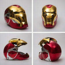 Iron Man MK85 1:1 Scale Wearable LED Eyes Electric Touch Helmet Replica Stock