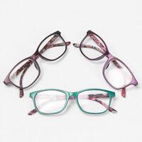 Print Flower Eye wear Eyeglasses +1.00~+4.0 Diopter Reading Glasses Vision Care