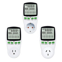 Energy Voltage Monitor LCD Wattmeter Current Analyzer Outlet Socket Power Meter