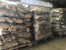 "Pallet 64 x Nets British Seasoned Hardwood Firewood ""Ready to Burn"" 13 kilos"