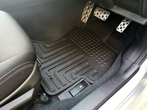 Rugged Rubber Floor Mats Tailored Heavy Duty for Subaru XV 11-17 G4X