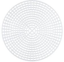 Plastic Canvas 7mesh - Circle, 11.5cm, pack of 10