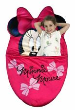 Disney Minnie Mouse Kids Sleeping Bag Nap Mat Blanket Fleece Slumbersling