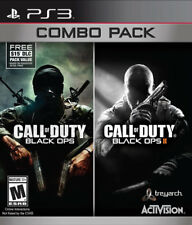 Call of Duty: Black Ops 1 & 2 Combo Pack PS3 New PlayStation 3, Playstation 3