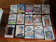 LOT 15 Jeux Sega Master System