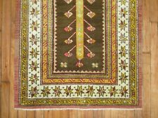 Vintage Tree of life Turkish Anatolian Ushak Oushak Rug Size 2'2''x3'7''
