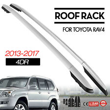 Roof Rack Rail Bar Pair For Toyota RAV4 4Dr 13-18 OE Style Side Rail 2013-2018
