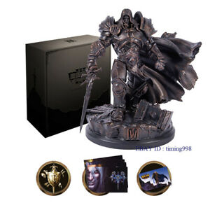 In Stock Warcraft III: Reforged Collector' Edition ARTHAS Statue Gift Box Toys