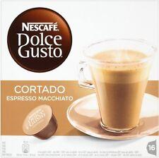 Nescafe Dolce Gusto Cortado Espresso Macchiato (20x16 Pods)