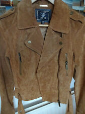 Lipsy Real Suede Jacket 10