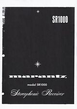 Service Manual-Anleitung für Marantz SR-1000