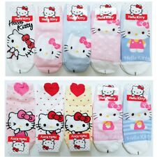 3P Cute Authentic Hello Kitty & Bear Fashion Socks girl women pink birthday gift