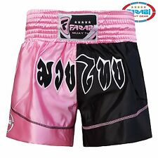Farabi Muay Thai Shorts MMA Martial Arts Thai Kickboxing Training Gym Workout
