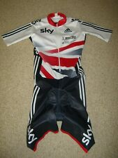 SKIN SUIT TEAM GB BRITISH CYCLING ADIDAS [XS]