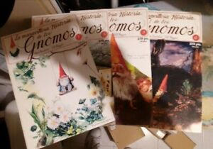 Libri vintage rari 1986 iberica mondo degli gnomi illustrato magnificamente nani