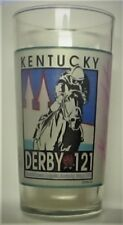 LIMITED EDITION, SIGNED KENTUCKY DERBY GLASS - HALL OF FAME JOCKEY GARY STEVENS