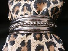 Vintage Sterling Silver Southwestern Cuff Bracelet Make Offer! #g87