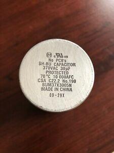 GE Capacitor SH-BU 370 VAC BUM37Z3005N