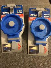 Lot Of 2 Kreg Kbcic In-Line Bench Clamp