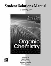 Solutions Manual for Organic Chemistry by Francis A. Carey (2017, Paperback)