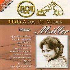 IMELDA MILLER 100 años de musica México  2 CDs BMG / RCA 2001 !