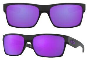 Oakley Damen Herren Sonnenbrille OO9189-08 60mm Twoface Violet Iridium OO17 H