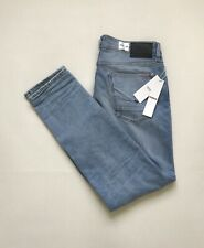 961b8bc4050 NWT Size 33X32 Men's HUDSON SARTOR Relaxed Skinny Stretch Distressed Denim  Jeans