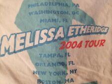 Melissa Ethridge Concert T-shirt 2004