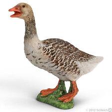 *NEW* SCHLEICH 13678 Grey Goose Female - RETIRED - Geese Farm Life
