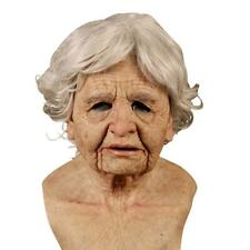 Another Me-Delicate Old Woman Halloween Silicone Heagear Masquerade Party US