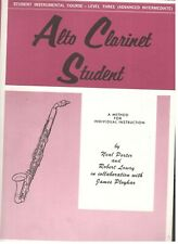 Student Instrumental Course Level 3 Alto Clarinet Student Music Book New On Sale