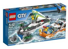 NEW LEGO City Sailboat Rescue(60168) Building Toy With Boats That Really Float