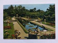 Compton Acres Bournemouth Vintage colour Postcard c1970s Italian Gardens