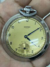 Rare oTISSOTo pocket watch 15jewels
