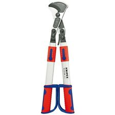 Knipex Ratchet Action Cable Cutter Shears Withtelescoping Handle 15 Inch Capacity